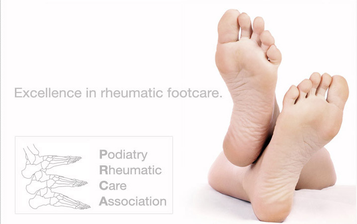 The PRCA provide excellence in rheumatic footcare
